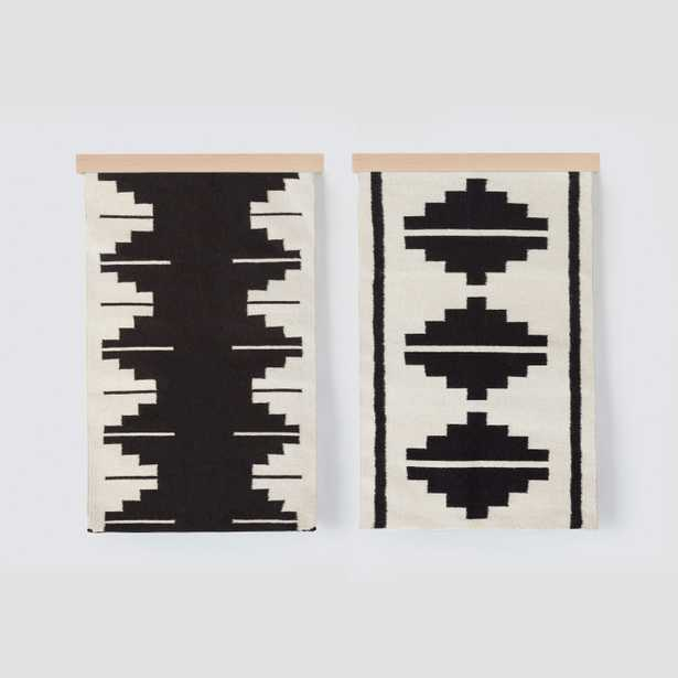 Wall Hanging Set - Black & White Series By The Citizenry - The Citizenry
