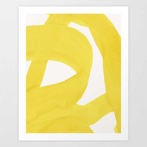 Close To Yellow Art Print by Georgiana Paraschiv - X-LARGE - Society6