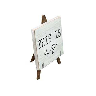 Cousins This is us Wooden a Frame Freestanding Tabletop Decor - Wayfair