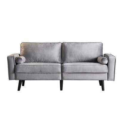 "Martucci 70.8"" Wide Square Arm Sofa - Wayfair"