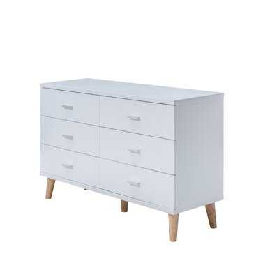 Wallingford 6 Drawer Double Dresser - AllModern