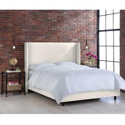 Stella Upholstered Panel Bed - AllModern