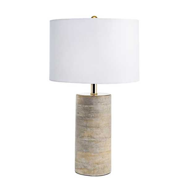 nuLOOM 21 in. Natural Berry Wood Indoor Table Lamp - Home Depot