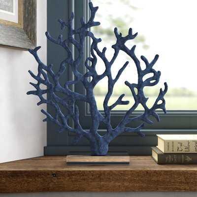 Coastal Branched Coral Figurine - Birch Lane
