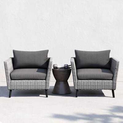 Nico Patio Chair with Cushions - AllModern