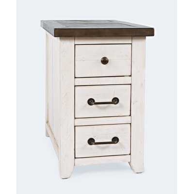 Westhoff Solid Wood 3 Drawer End Table - Wayfair