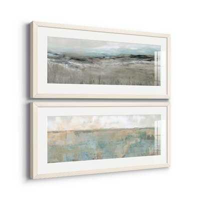 Distant Foothills - 2 Piece Picture Frame Print Set - Wayfair