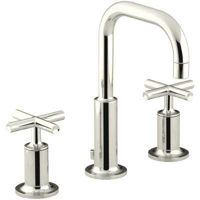 Purist Widespread Bathroom Faucet with Drain Assembly - Birch Lane