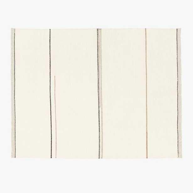 Preston Linen Blend Stripe Rug 8'x10' - CB2