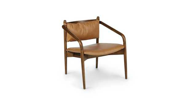 Lento Teres Tan Lounge Chair - Article