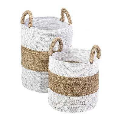 Woven Basket Set - Wayfair