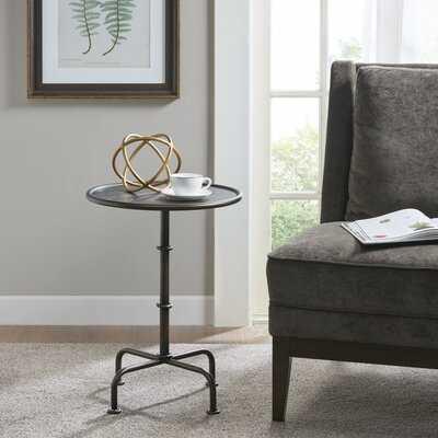 Lassen Pedestal End Table - Wayfair