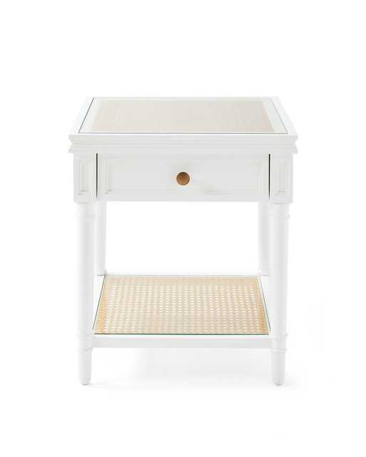 Harbour Cane Nightstand - Serena and Lily