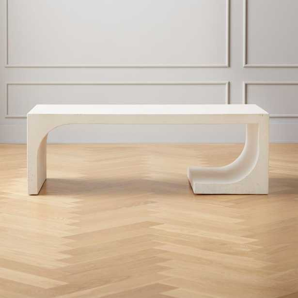 Slope Cement Coffee Table - CB2