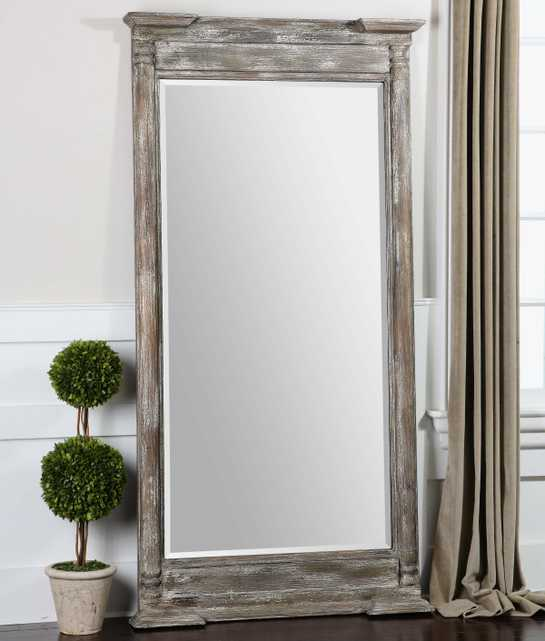 Valcellina Wooden Leaner Mirror - Hudsonhill Foundry