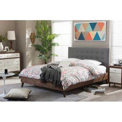 Bonilla Upholstered Platform Bed - Wayfair