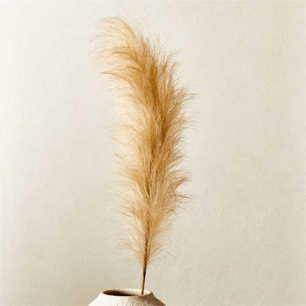 Faux Pampas Grass Taupe Stem - CB2