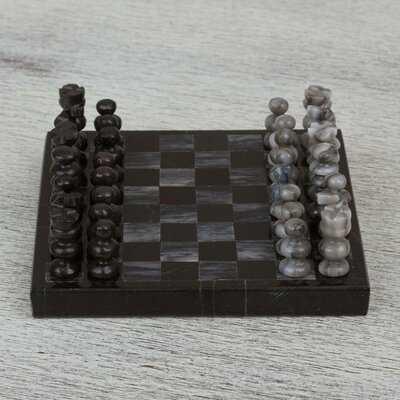 Ava-Mai Mini Chess Decorative Puzzle - Wayfair