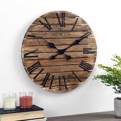 Ely Wall Clock - Wayfair