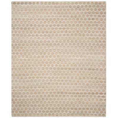 Zap Geometric Handmade Flatweave Gray/Natural Area Rug - Wayfair