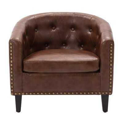 "28.3"" Wide Barrel Chair - Wayfair"