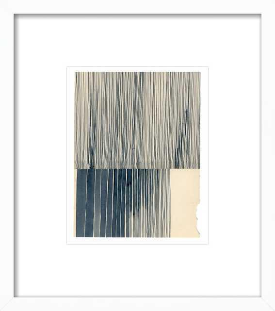 Not a Circle (Payne's Grey 1) by Kate Castelli for Artfully Walls - Artfully Walls