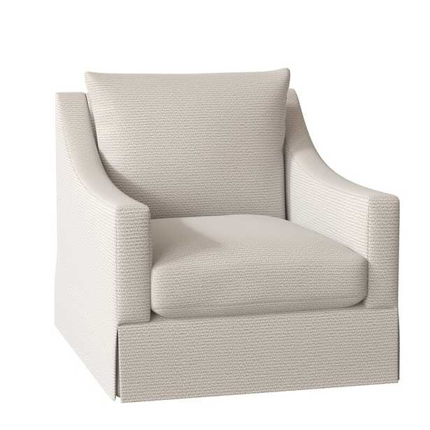 """Bernhardt Grace 32.5"""" W Polyester Blend Armchair Body Fabric: 1345-002, Motion Type: Stationary - Perigold"""