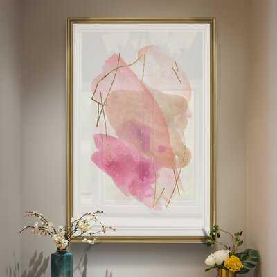 Rose Edge I' - Painting Print on Canvas - Wayfair