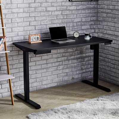 Electric Motorized Height Adjustable Standing Desk - Wayfair