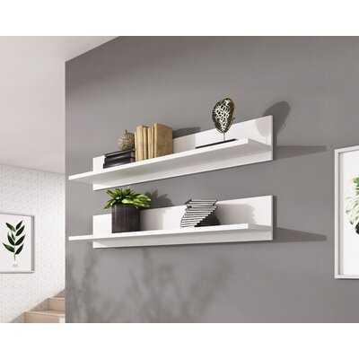 Hinckley Modular 2 Piece Wall Shelf Set - Wayfair