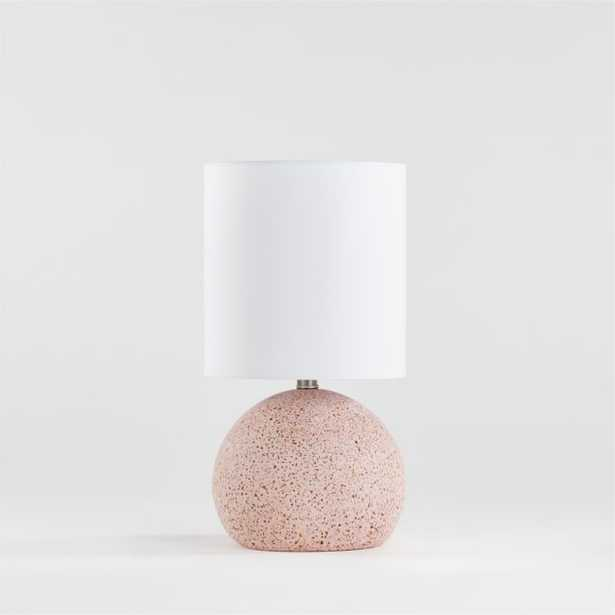 Pink Terrazzo Table Lamp - Crate and Barrel