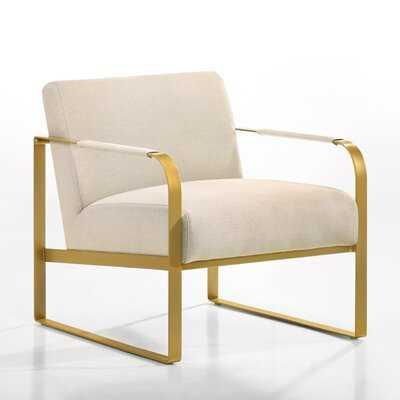 Mason Lounge Accent Chair in , Beige - Wayfair