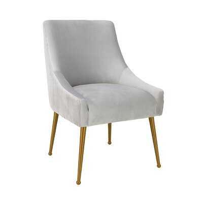Dusek Pleated Upholstered Dining Chair - Wayfair