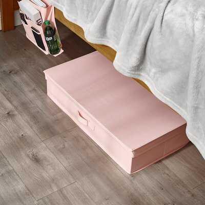 Underbed Folding Box - Millard® College Storage - Rose Quartz - Wayfair
