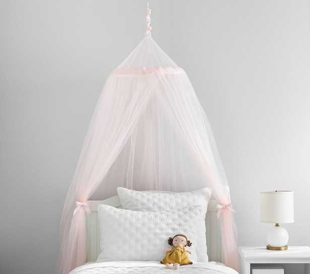 Blush Classic Tulle Canopy - Pottery Barn Kids