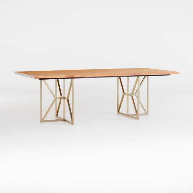 """Hayes 94"""" Rectangular Dining Table - Crate and Barrel"""