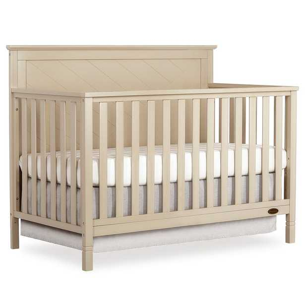 Dream On Me Skyline 5 in 1 Convertible crib, White - Home Depot