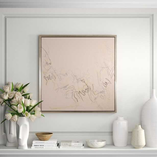 CHC Art, Inc. 'Notes of Existance' - Floater Frame Painting Print on Canvas - Perigold