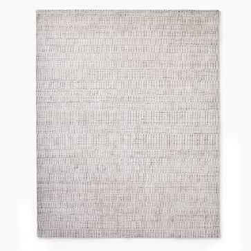 Shino Rug, 8x10, Frost Gray - West Elm