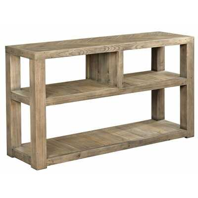 """Wesley 52"""" Solid Wood Console Table - Wayfair"""