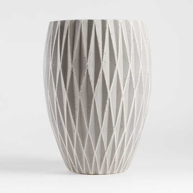 Rocklin Large Planter - Crate and Barrel