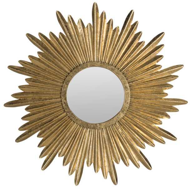 Josephine Sunburst Mirror - Antique Gold - Arlo Home - Arlo Home