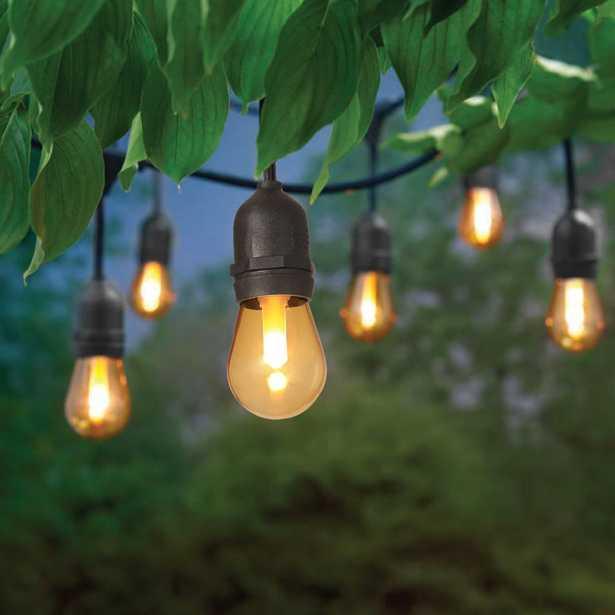 Hampton Bay 12 ft. 6 Socket LED Flame Effect Indoor/Outdoor String Light - Home Depot