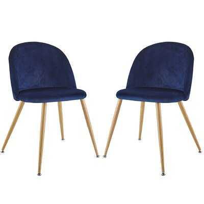 Stearns Upholstered Side Chair (set of 2) - Wayfair