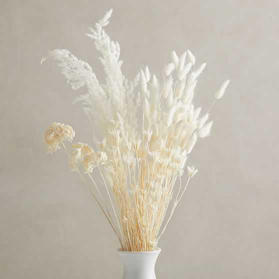 Dried Bleached Bouquet - West Elm