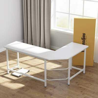 Schwanke L-Shaped Desk - Wayfair