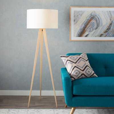 "Christie Modern 60.25"" Tripod Floor Lamp - AllModern"