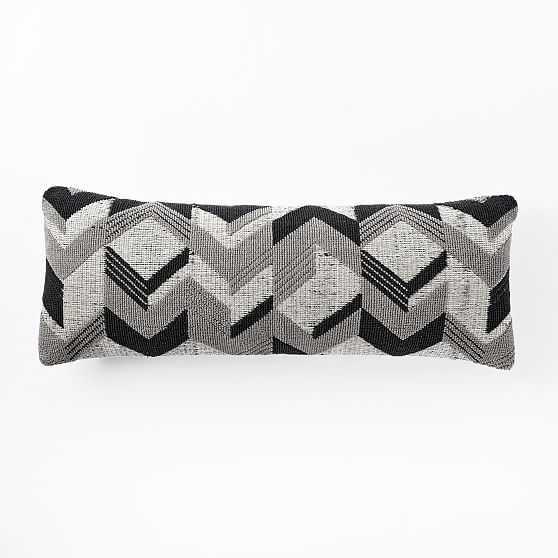 Springhill Suites Broken Arrow Pillow Cover, Platinum - West Elm