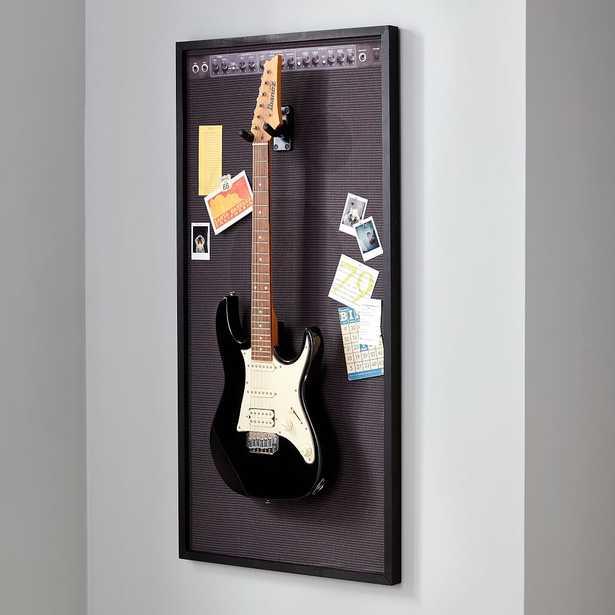 Amp Pinboard & Guitar Display, Black, 48x24 - Pottery Barn Teen