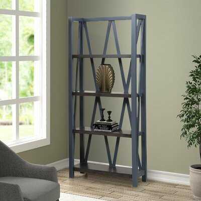 Sarita Etagere Bookcase - Wayfair